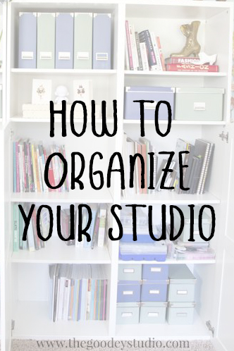 how to organize your Studio