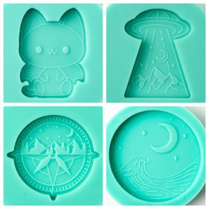 four goodey studio molds